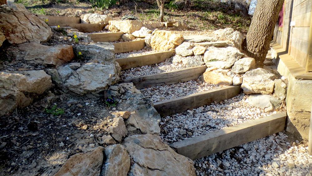 Stunning escalier naturel dans le jardin photos design trends