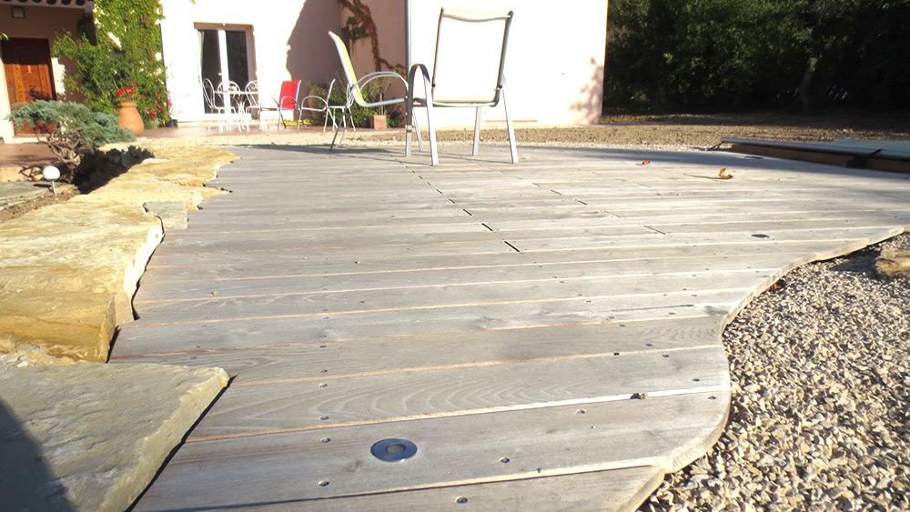 Terrasses jardin paysagistes paysagiste architecte paysagiste votre terrasse agr able - Terrasse bois et jardin zen aixen provence ...